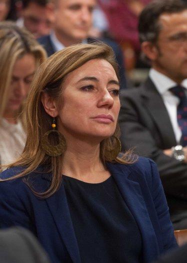 Marta Fernández Currás, Secretaria de Estado de Presupuestos y Gasto, durante la entrega de los premios de la APIE Tintero y Secante 2014