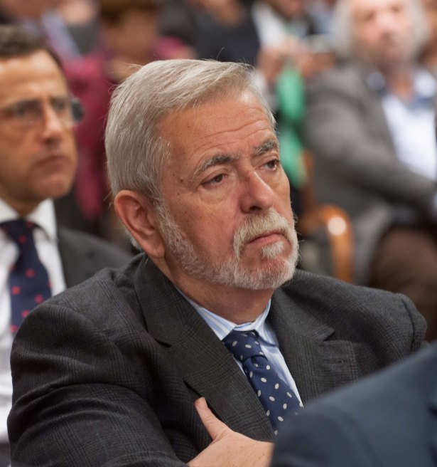 Antonio Beteta, Secretario de estado de Administraciones Públicas, durante la entrega de losPremios de la APIE Tintero y Secante 2014.