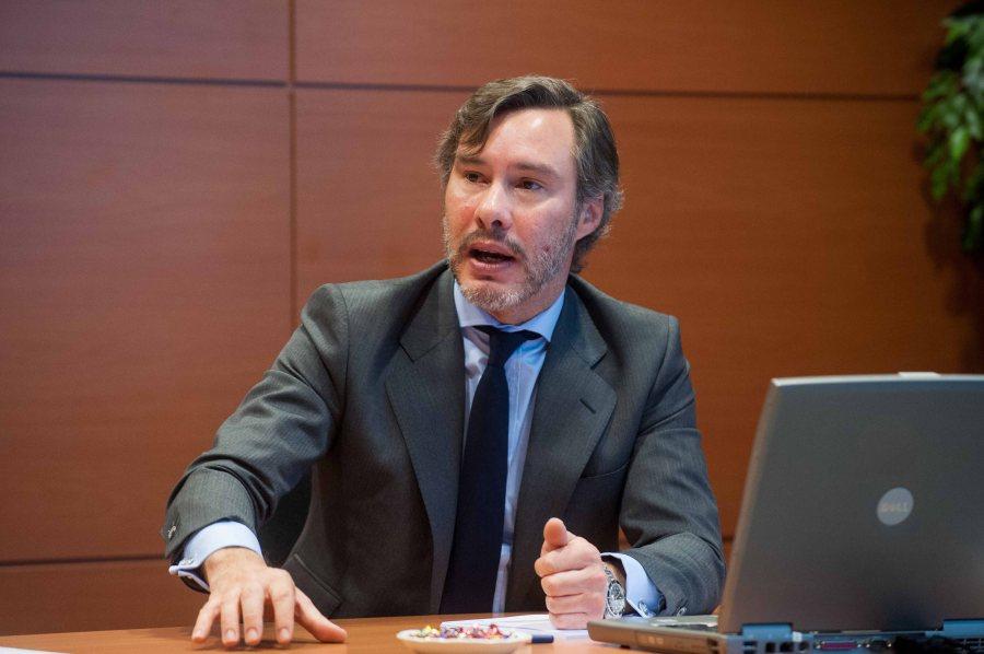 Un momento de la ponencia de Alfonso Puyol, Socio Experto en Fiscalidad Internacional de EY Abogados, en la Tercera Jornada del Curso de Periodismo de la APIE.