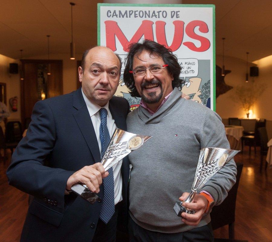 Constantino Mediavilla y Jorge Iglesias, ganadores del Tercer Premio.