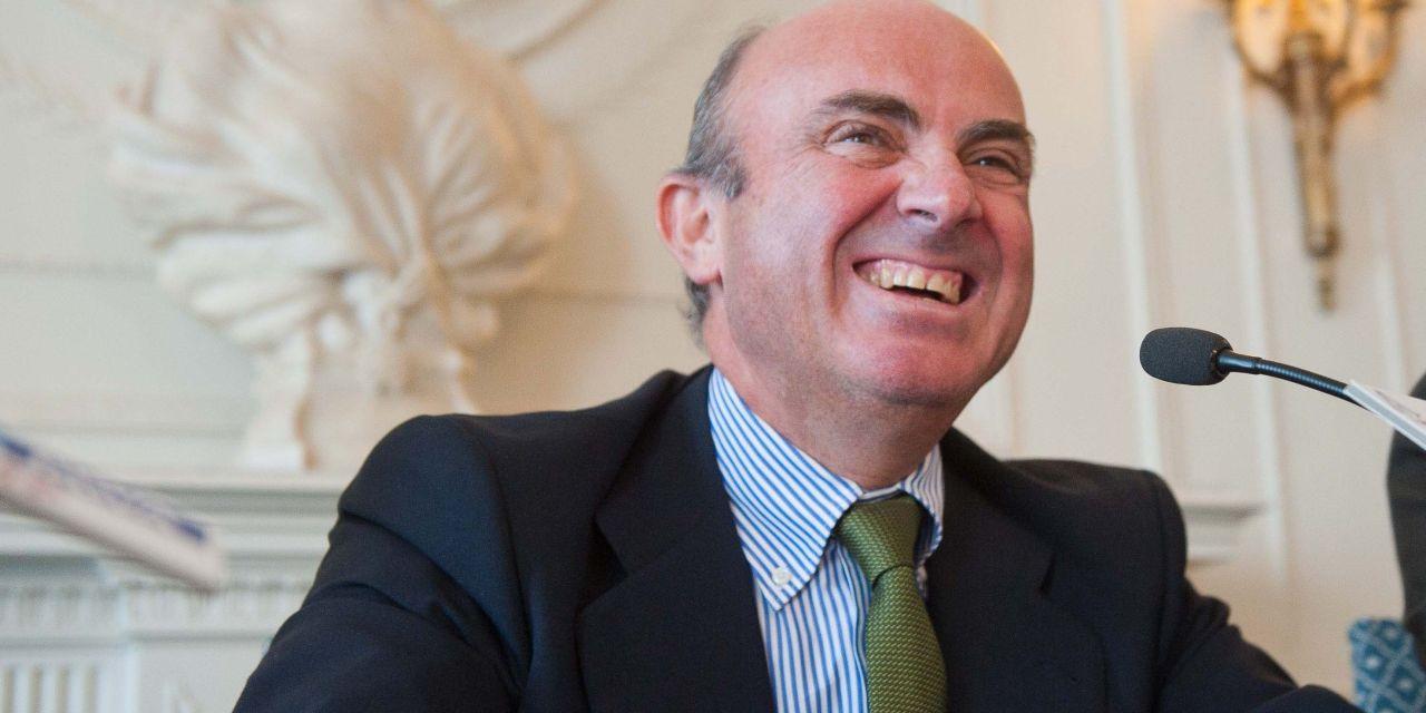 """Luis de Guindos: """"Es importante tener un español en la presidencia del Eurogrupo"""""""