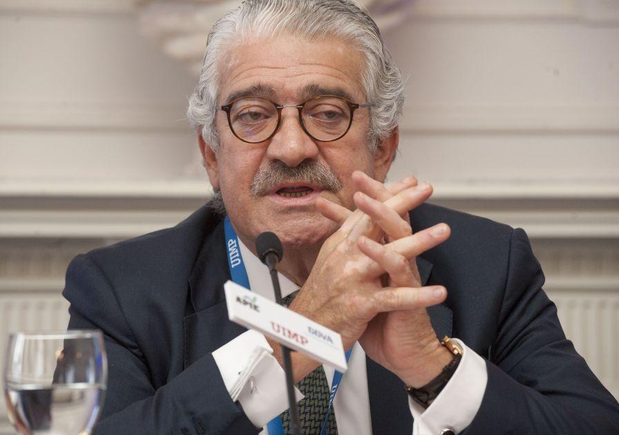 José Bogas, Consejero Delegado de Endesa, durante su intervención en el curso de economía organizado por APIE en la Universidad Internacional Menéndez Pelayo de Santander.