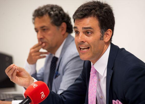 Fernando Iglesias, presidente de IAF, durante la jornada sobre investigación aduanera y fiscal organizada por la APIE.