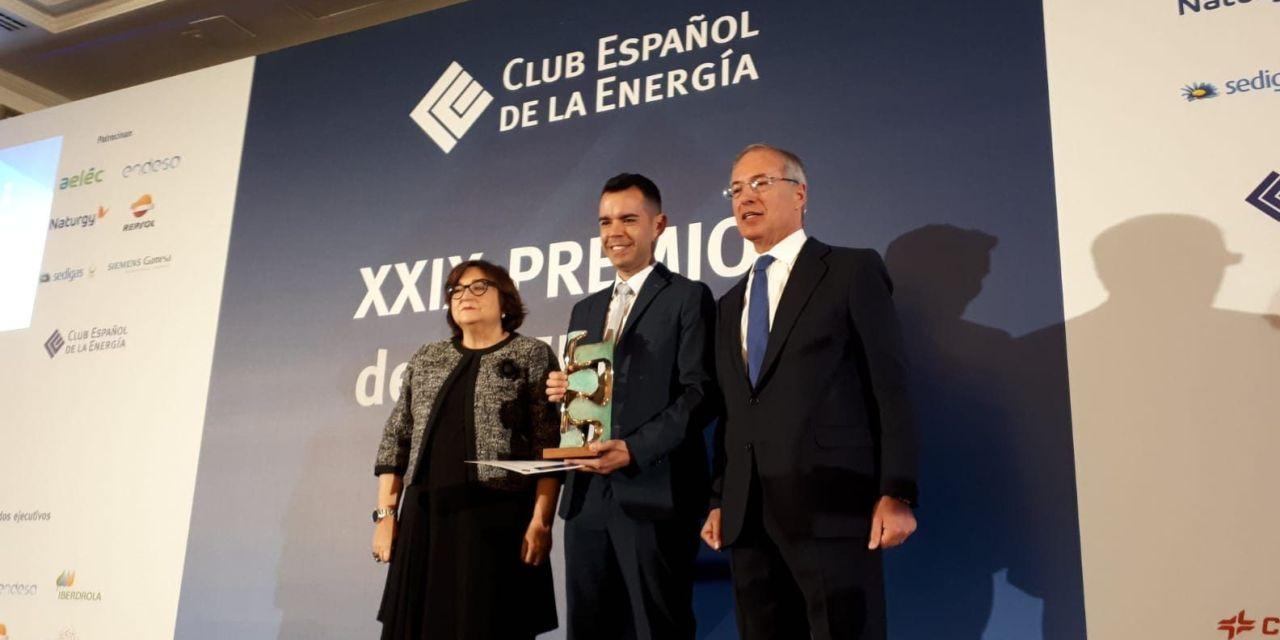 José María Camarero, premio de Periodismo Energía Eléctrica 2019