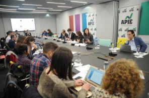 Vista general de la celebración deI Jornada del XXXII Curso de Economía para Periodistas organizado por APIE.