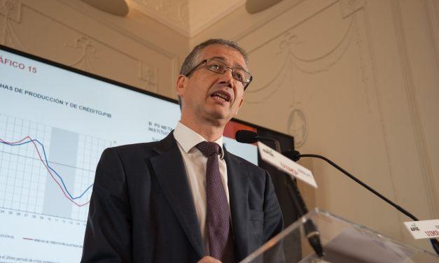 """Pablo Hernández de Cos: """"la fragmentación parlamentaria ha llegado para quedarse"""""""