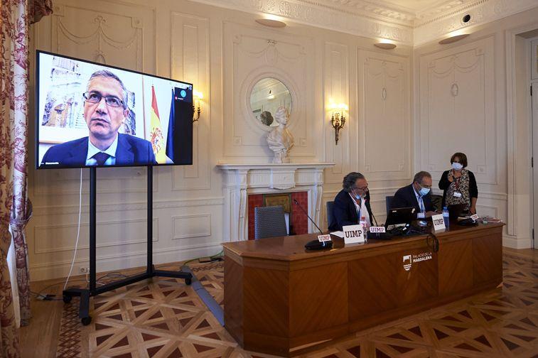 """Pablo Hernández de Cos: """"La contracción del PIB en 2020 será muy sustancial, sin precedentes históricos recientes"""""""