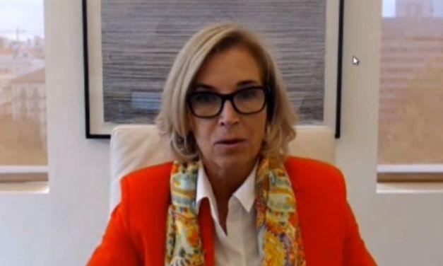 """María Dolores Dancausa: """"No estamos pensando en participar en ningún proceso de fusión"""""""