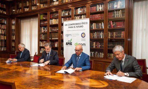 Periodistas y dircoms firman un código conjunto de deontología, ética y buenas prácticas