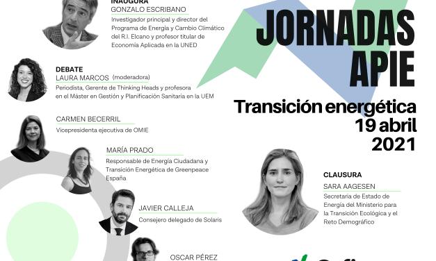 19 de abril, Segunda Jornada de Formación Económica: Transición Energética