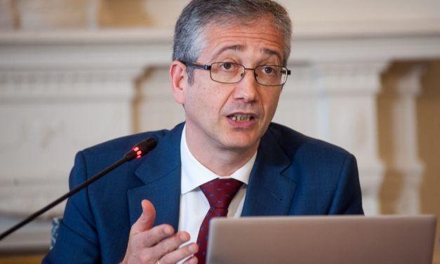 """Pablo Hernández de Cos: """"La reputación de la banca no es la que los gestores del sector querrían""""."""