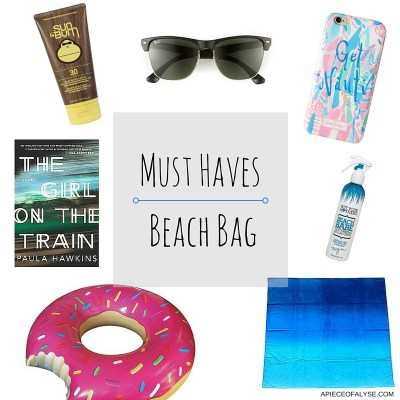 Summer 2016 Must Haves – Beach Bag