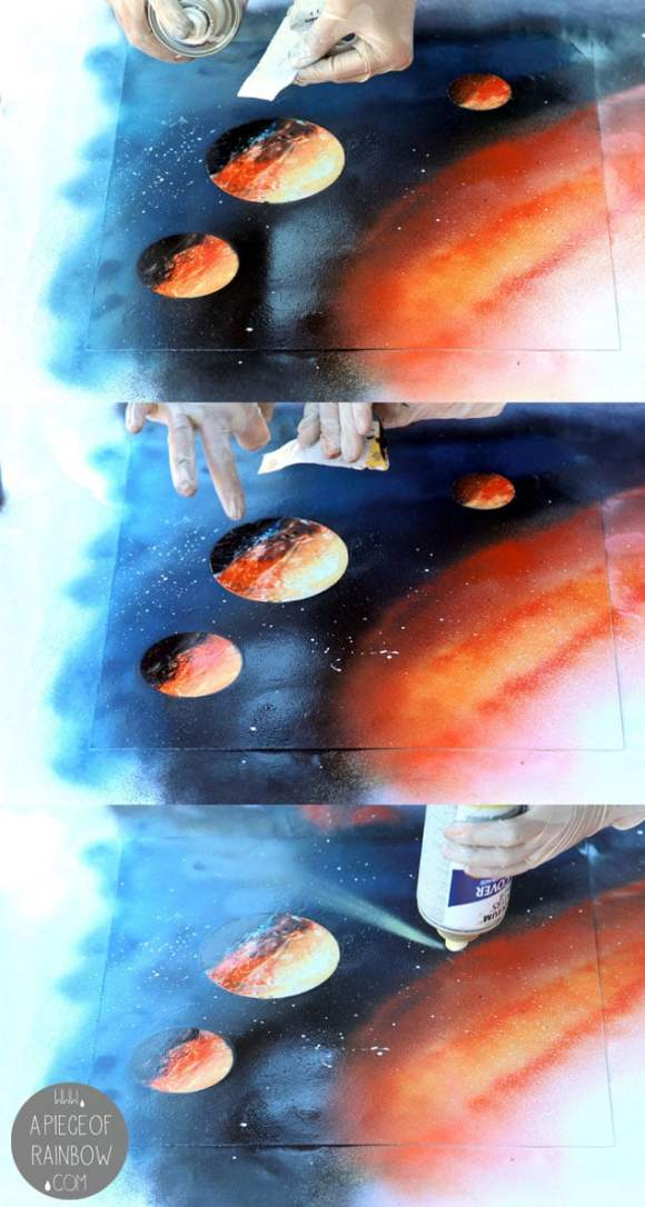 DIY: Spray Paint Art in 5 Minutes - Page 3 of 3 - A Piece ...