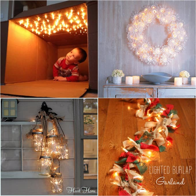 18 magical string lights apieceofrainbowblog 11 - 16 Favorite Easy Gift Wrapping Ideas (Many are Free!)