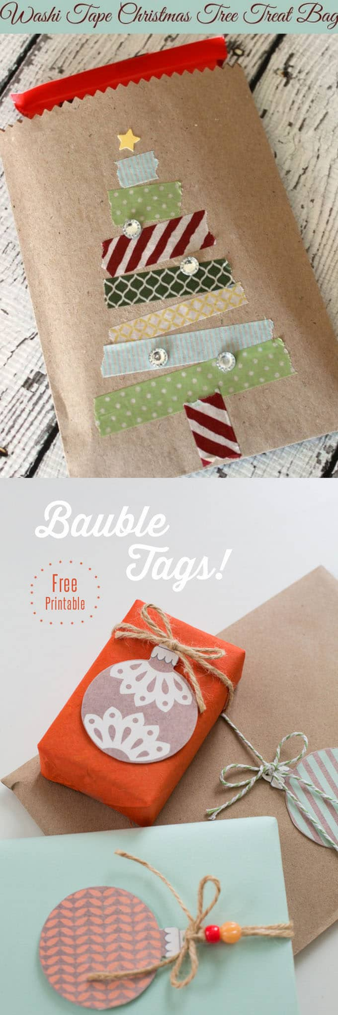 16 gift wrapping hacks apieceofrainbow 7 - 16 Favorite Easy Gift Wrapping Ideas (Many are Free!)