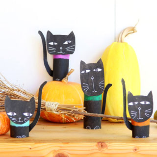 Wickedly Fun Halloween Cat Decorations 0 Easy Craft A Piece Of Rainbow