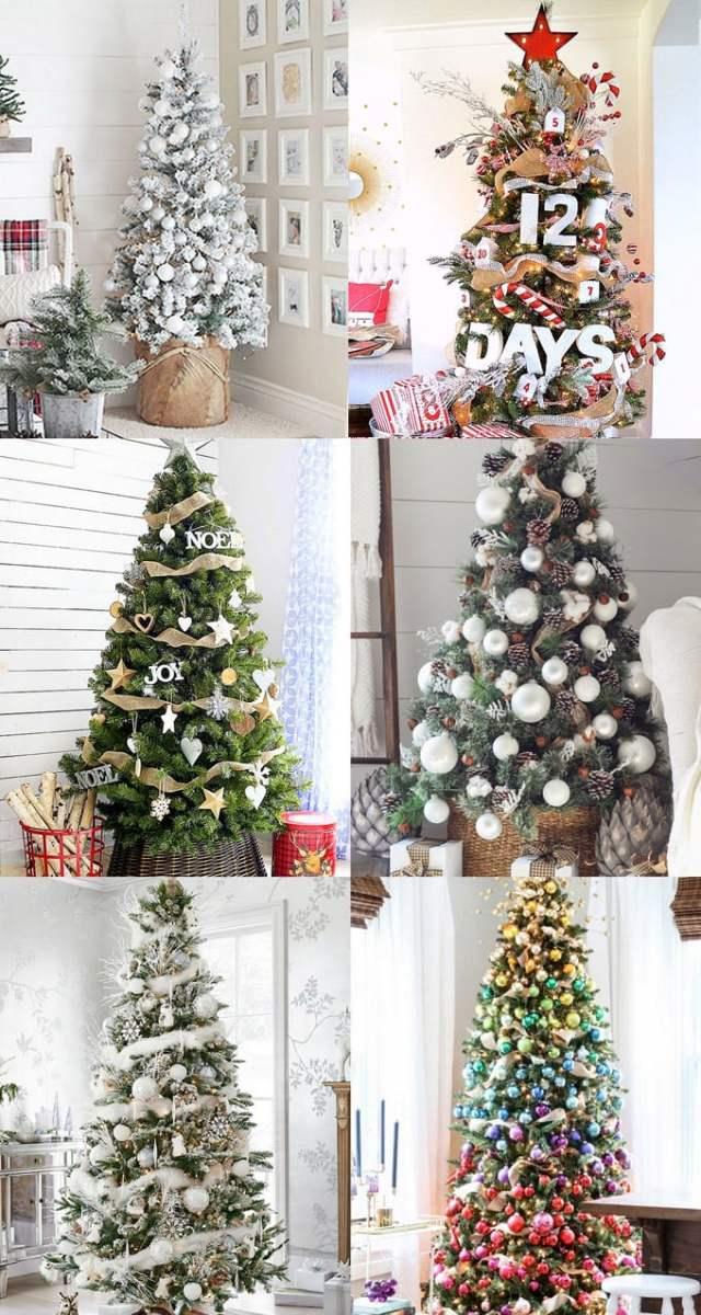 christmas tree decorating ideas elegant decorations how to decorate white red ribbon tutorials apieceofrainbow 5j