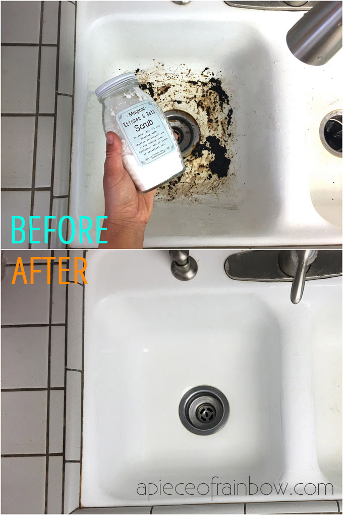 diy green cleaning scouring powder