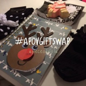 Blogmas Day Twenty Seven | #apovgiftswap