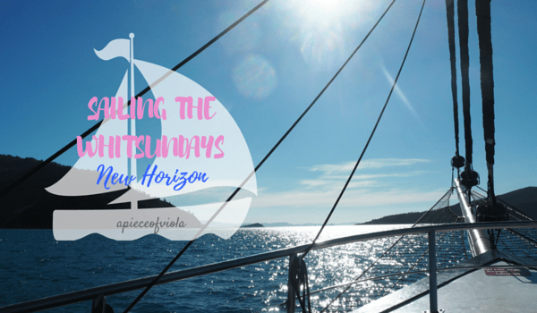 Sailing the Whitsundays with New Horizon