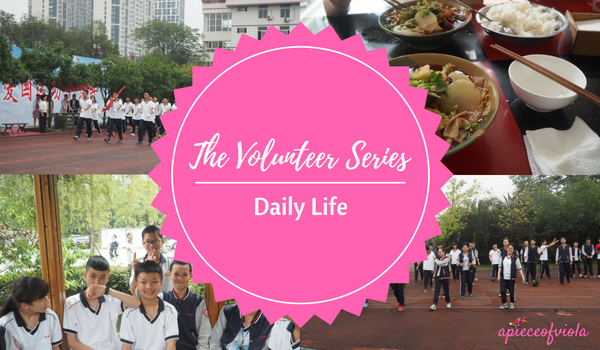 The Volunteer Series: Daily Life