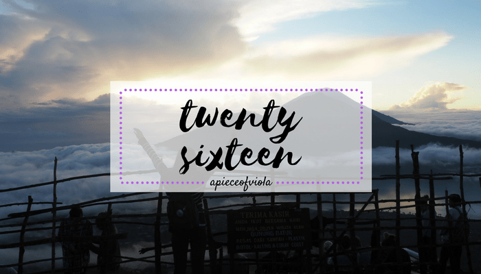 twenty-sixteen in review and what it has taught me