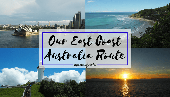 Our East Coast Australia Route | Gap Year Travel
