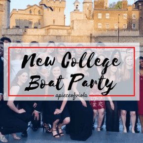New College Boat Party | Uni Diaries