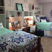 35+ Top Advice on Dorm Room Ideas for Girls College Color Schemes