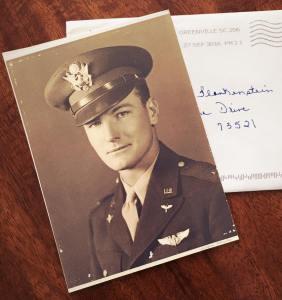 USAAF Second Lieutenant Rex Alderman Rice