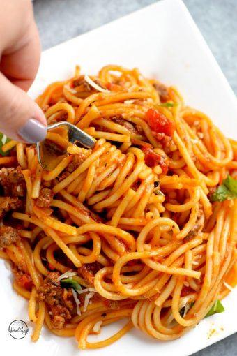 Basic Italian Pasta Salad