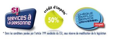 Logos SAP crédit d'impôts CESU