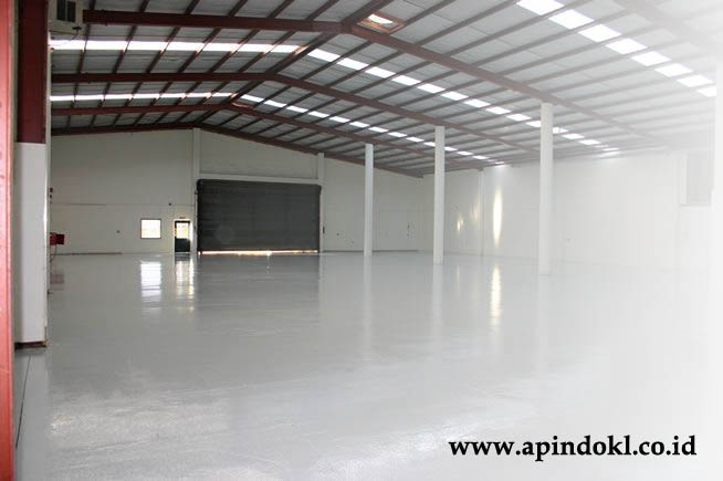 epoxy lantai warehouse