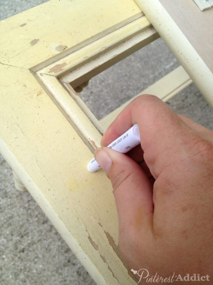 3M Lead Check Swabs - How to check your vintage furniture for lead paint - 3M Lead Check Swab Rub 30 seconds