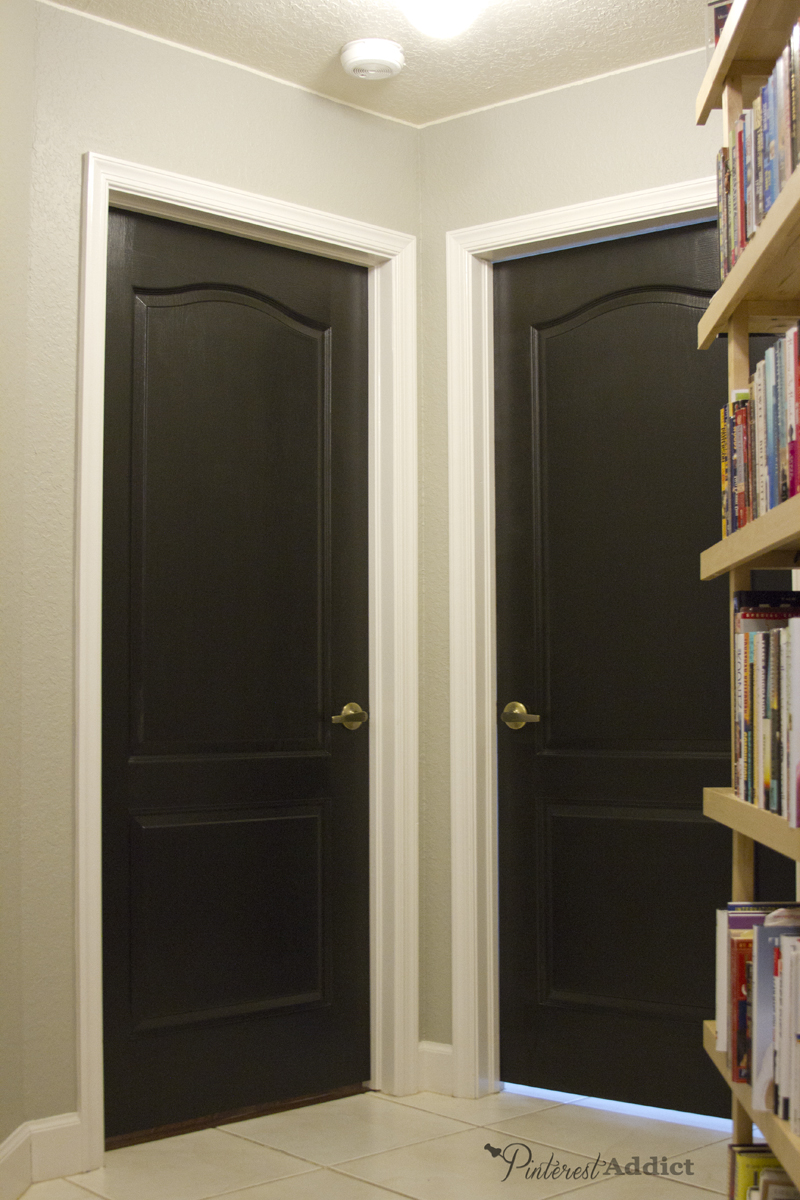 Painting The Interior Doors Black