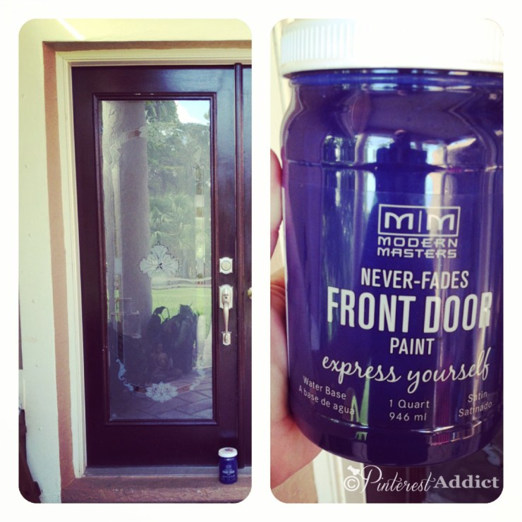 Front Door Paint by Modern Masters