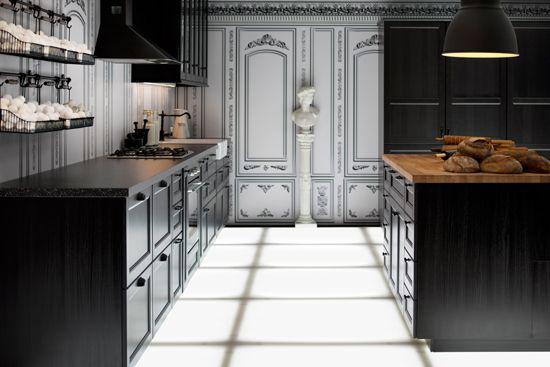 Ramsjo black kitchen