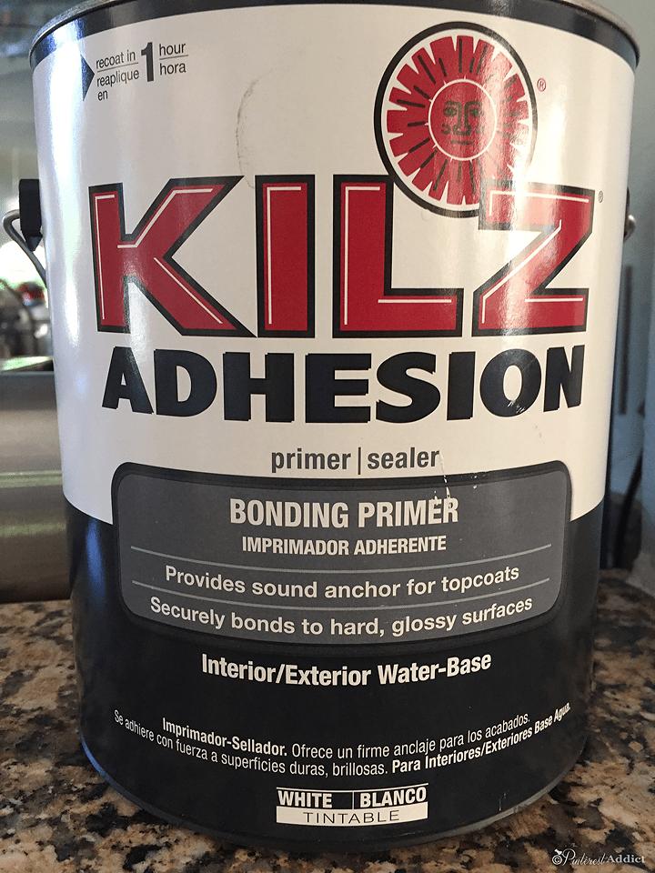 kilz adhesion primer for glossy surfaces like granite