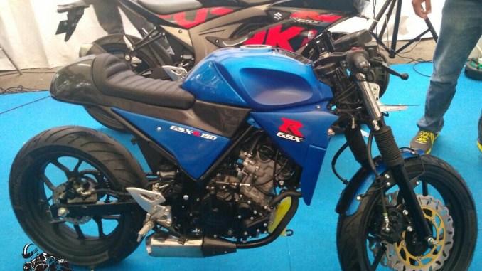 Modifikasi GSX R150 Cafe Racer Minimalis (1)