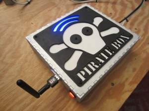 Raspberry Pi Pirate Box