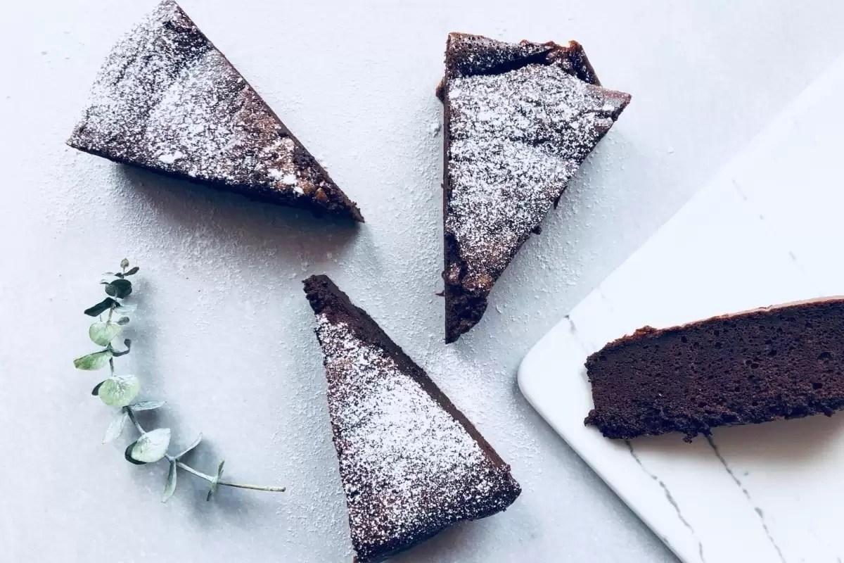 o melhor e mais simples bolo de chocolate