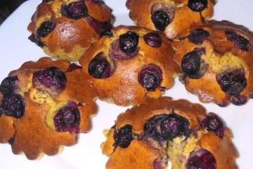 muffins fofos iogurte