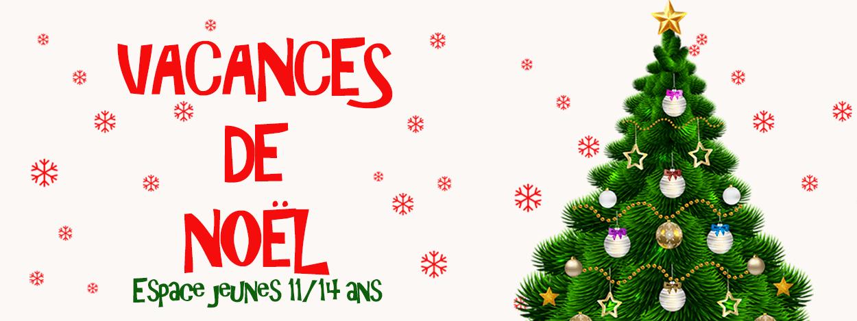 Espace jeunes : vacances de Noël