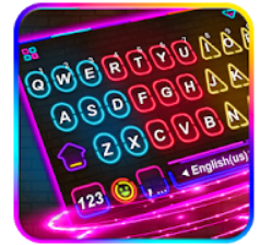 Light Keyboard Theme apk, Multi Color Led Light Keyboard Theme apk top 15