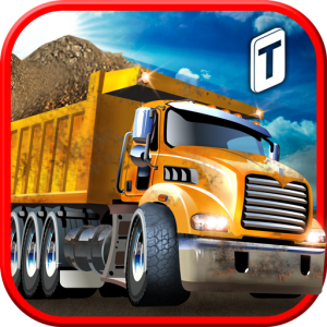 Construction Trucker 3D Sim