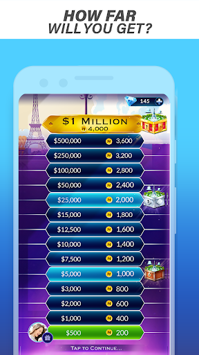 Millionaire Trivia: Who Wants To Be a Millionaire?