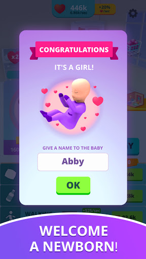 Baby & Mom - Pregnancy Idle 3D Simulator
