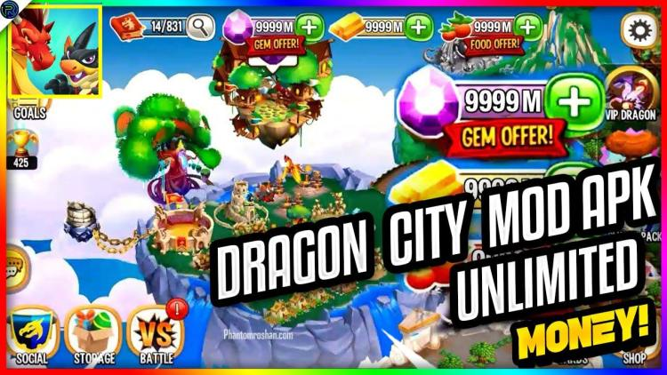 Dragon city mod apk unlimited everything