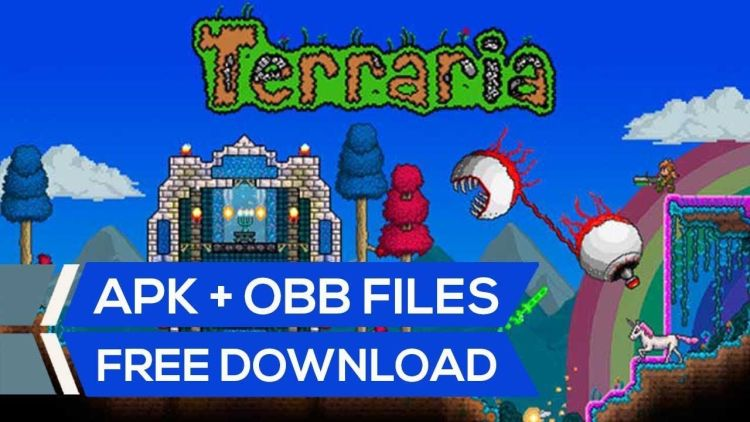 Terraria apk full version free download with obb