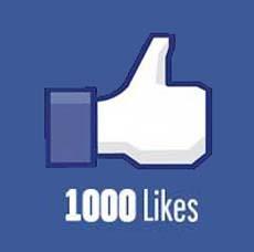 1000 Likes on Facebook